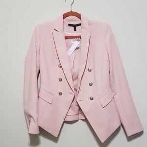 White House Black Market Pink Blazer